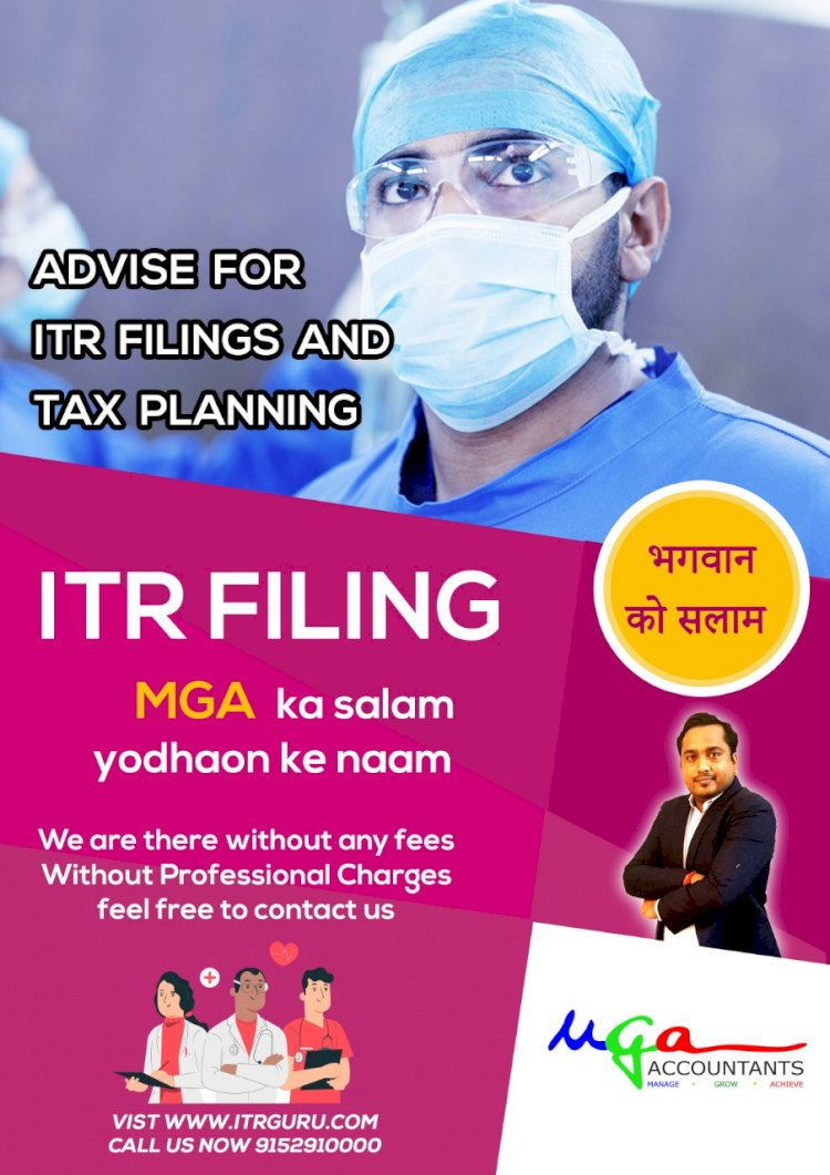 Income Tax Return And GST Compliance For Doctors And Physicians