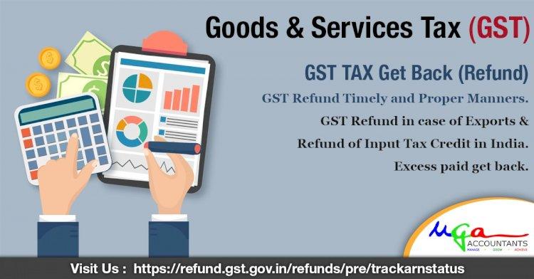 GST TAX Get Back (Refund)